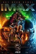 Mortal Combat IMAX Poster