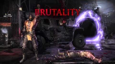 Scorpion Brutality 2 - Shirai Ryu Fire