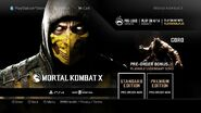 MKX on PS4 store