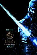 Mortal Kombat 2021 Sub Zero character poster