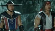 MK 11 Kung Lao and Liu Kang