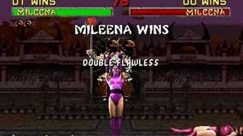 Mortal Kombat II - Fatality 2 - Mileena