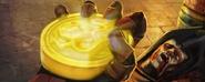 Dragon Medallion in Sektor's hand