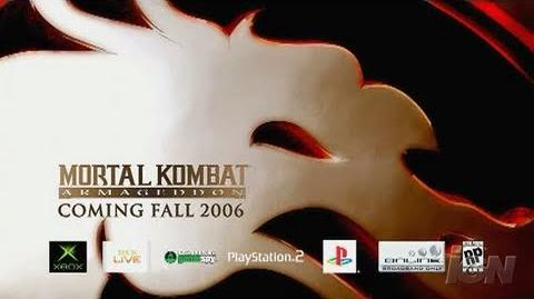 Mortal Kombat Armageddon PlayStation 2 Trailer - End of