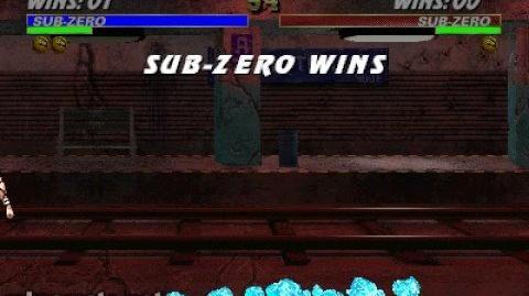 Mortal Kombat 3 - Sub Zero's Fatality 1