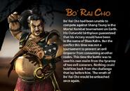 Bo' Rai Cho. MKDA bio 2