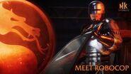 Mortal Kombat 11 Aftermath - Meet RoboCop