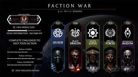 Faction War Trailer (HD) - Next - Mortal Kombat X - MKX