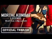 Mortal Kombat Legends- Battle of the Realms - Official Exclusive Trailer (2021) Joel McHale-2