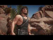 Mortal Kombat 11 Ultimate - Rambo- Parrilla Thrilla Fatality