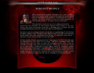 Mka nightwolf bio