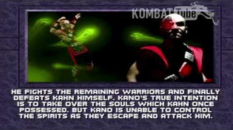 MK III Ending- KANO