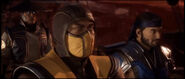 MK11 Raiden, Scorpion, and Sub-Zero