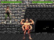 Mortal Kombat 1 Sega Genesis - Sonya Playthrough