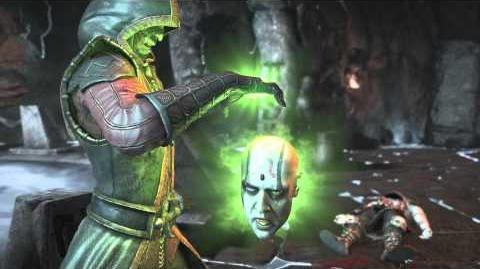 MKX Ermac Head Out Fatality