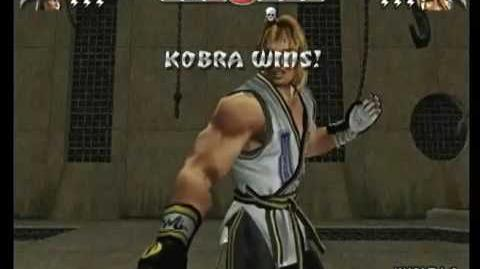 Mortal Kombat Armageddon Kobra's Kombat Card