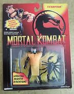 Scorpion movie figure carded
