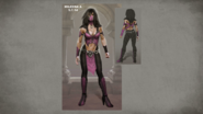 MK Mileena Concept Art 6