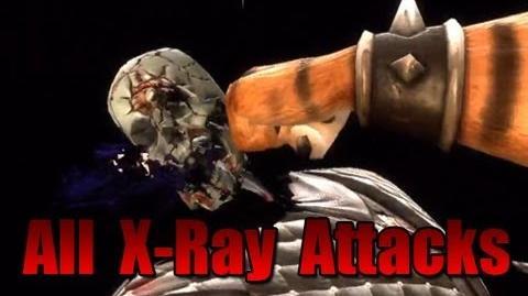 Mortal Kombat 9 All XRay Attacks DLC Bosses
