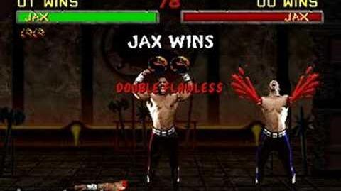 Mortal Kombat II - Fatality 1 - Jax