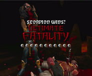 Scorpion Ultimate Fatality MKA KaF