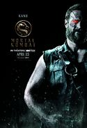Mortal Kombat 2021 Kano character poster