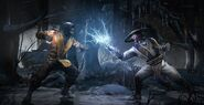 Scorpion Vs Raiden