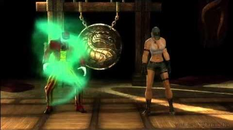 Mortal Kombat 9 (2011) - Shang Tsung Fatality 1 Bang! Bang!