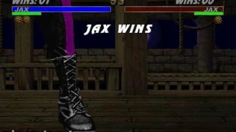 Mortal Kombat 3 - Fatality 2 - Jax