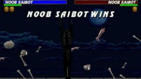 Mortal Kombat Trilogy - Fatality 2 - Noob Saibot