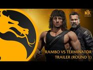 Mortal Kombat 11 Ultimate - Official Rambo vs