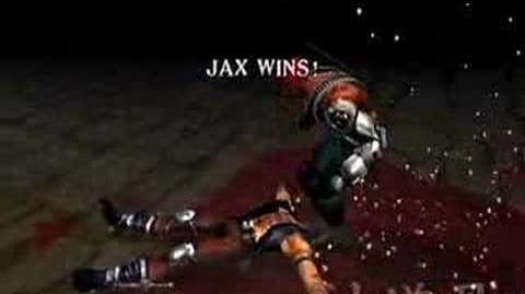 Mortal Kombat Deadly Alliance Jax's Fatality