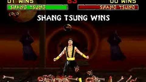Mortal Kombat II Fatality 2 - Shang Tsung