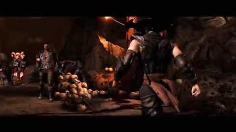 Mortal Kombat X- Official Briggs Family Trailer