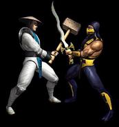 Raiden and Scorpion 4