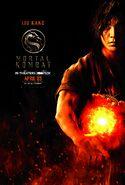 Mortal Kombat 2021 Liu Kang character poster