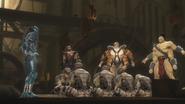 Guarding the prisoners