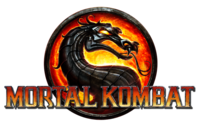The Mortal Kombat (2011) logo.