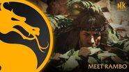 Mortal Kombat 11 Ultimate Meet Rambo
