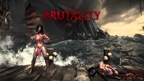 Mileena Brutality 1- High Roller