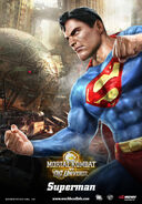 Mk vs dc Superman poster