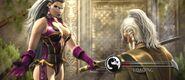 Queen Sindel with an Edenian Sword
