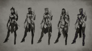 MK Mileena Concept Art 2