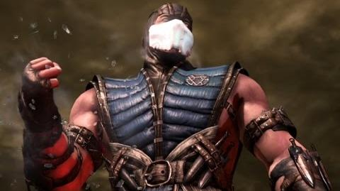 Mortal Kombat X - Sub Zero All Interaction Dialogues