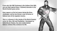 Batman Arkham City Lockdown Kano Easter Egg Referance