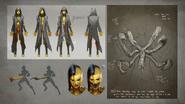 MKX D'vorah Concept Art 5