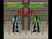 Mortal Kombat 1 SNES (US Version)- Sub-Zero Playthrough