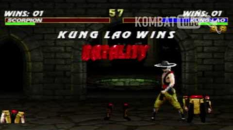 "MK III Kung Lao ""Hat Slices"" Fatality"