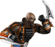 Darrius with his Gauntlets