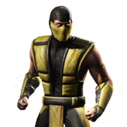 Mortal kombat x ios scorpion render 7 by wyruzzah-d9j69xy